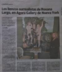 Rosana Largo participará en la feria de abril neoyorquina